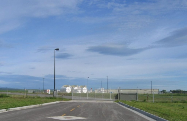 Sheridan County Airport General Aviation Access Road and Security Gate