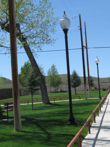 Clearmont Park Lights and Fencing