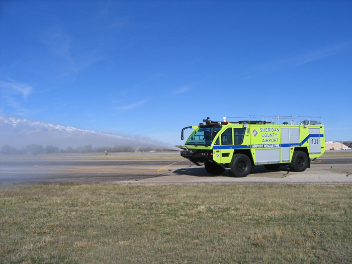 Sheridan County Airport Rescue Fire Vehicle
